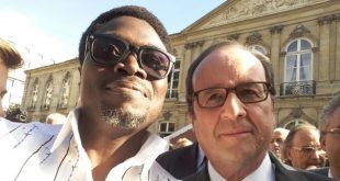African Fashion Ambassador Lexy Mojo-Eyes Meets The French President