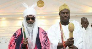 Emir Sanusi and Ooni Ogunwusi 2
