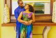 Onajite with husband, Ekechi