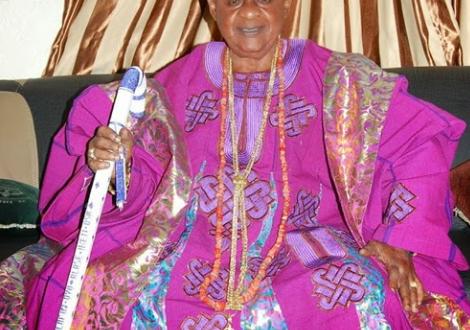 Alafin Of Oyo, Oba Lamidi Adeyemi